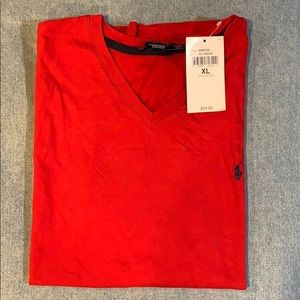 Ralph Lauren Sport Short Sleeve V- Neck XL